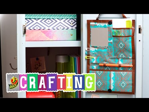 How to Craft a Duct Tape Locker Organizer