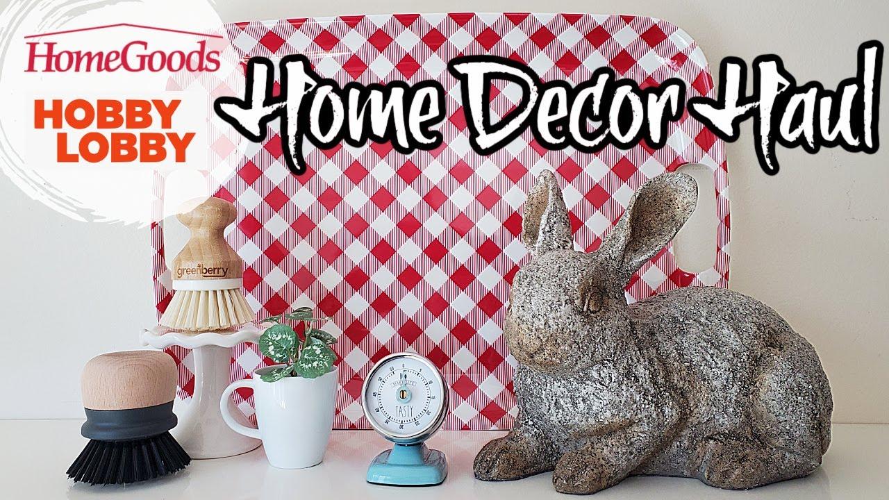 Home Goods & Hobby Lobby Haul  | Decor Haul