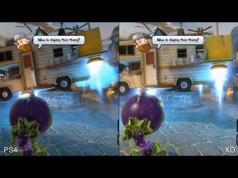 Plants vs Zombies Garden Warfare: PS4 vs Xbox One Comparison