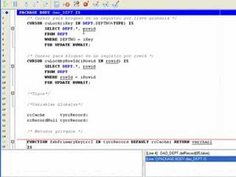 How to use a Oracle PL/SQL debugger