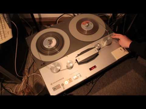TELEFUNKEN magnetophon 15A (German video)