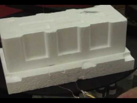 Props made with Styro-foam