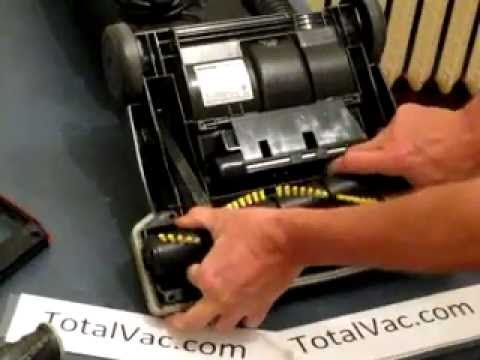 How to Change the Belt, Brush Roll and Wheels on a Hoover WindTunnel Vacuum Cleaner