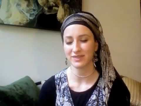 NOT FINISHED (why married Jewish women cover their hair and why I love it!)