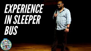Comedian Praveen Kumar | An Experience In A Sleeper Bus | Stand Up Comedy