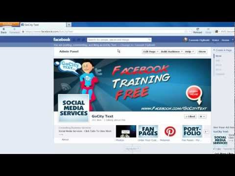 Drive Traffic to Facebook Fan Pages Part 1