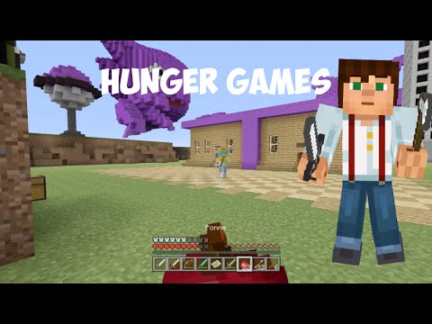 Hunger Games ⎜Map Pokémon⎜Minecraft PS4 [FR]