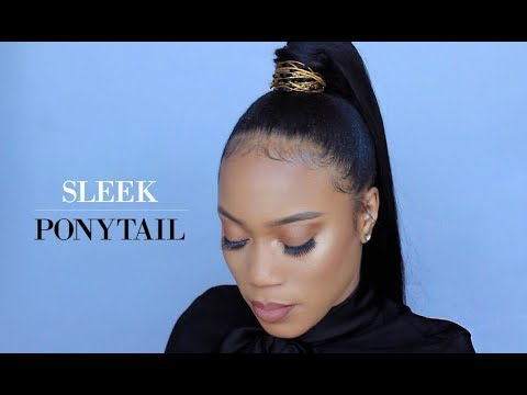 HOW TO: SLEEK PONYTAIL + GIVEAWAY(CLOSED)