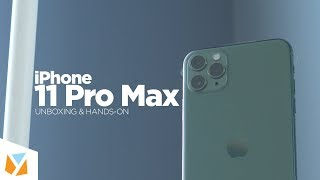 iPhone 11 Pro Max Unboxing & Hands-on