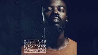 Black Coffee - Wish You Were Here feat. Msaki (Guy Mantzur Remix) [Ultra Music]