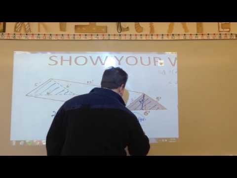 Surface Area & Volume - Isosceles Triangular Prisms