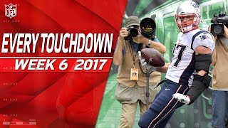 Every Touchdown from Week 6 | 2017 NFL Highlights