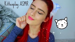 Kittenplay Asmr // Soft Spoken, Meow Sounds, Fabric Sounds, Tapping //