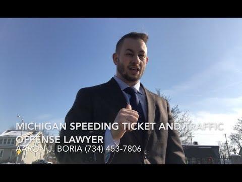 Michigan Speeding Ticket and Traffic Offense Lawyer