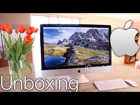 New iMac Retina 5K Display - Unboxing Late 2014: 27 Inch and Review