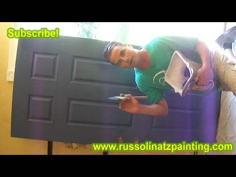 How to Paint a Stained Fiberglass Door (Part 4)