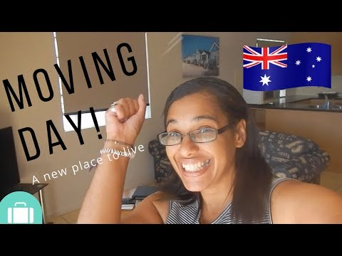 It's moving day | A new place to live in Australia