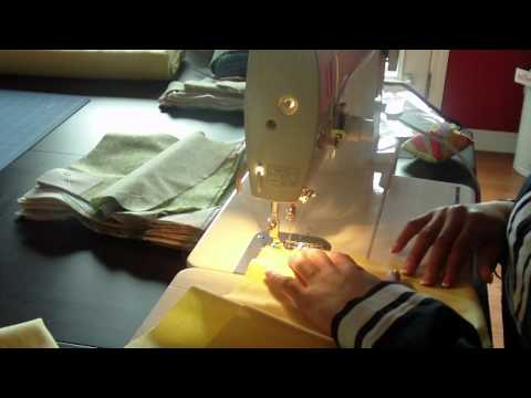 Sewing the Panels Together