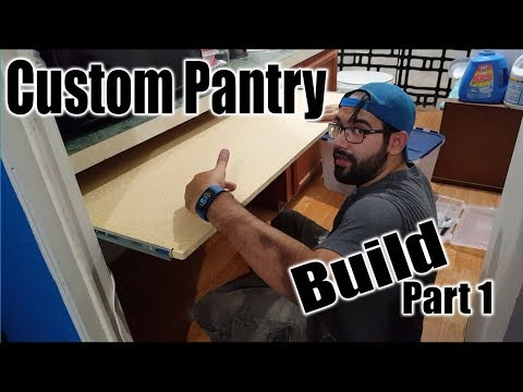 Custom Pantry Build | DIY (part 1 of 2)