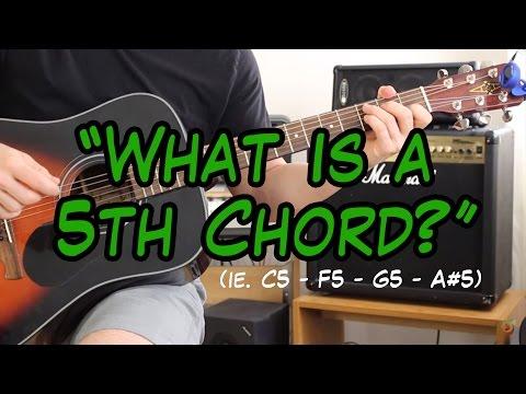 Open G5 Power Chord - G5 Piano Chord Chart