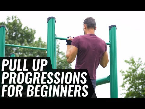 Pull Up Progressions for Beginners
