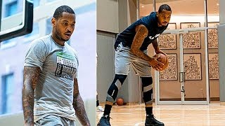 Carmelo Anthony Goes CRAZY In Practice But NBA Teams Don't Care!