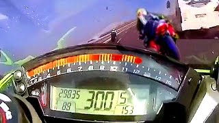 ♿ This is how 300 KM/H BIKE CRASH sounds like...