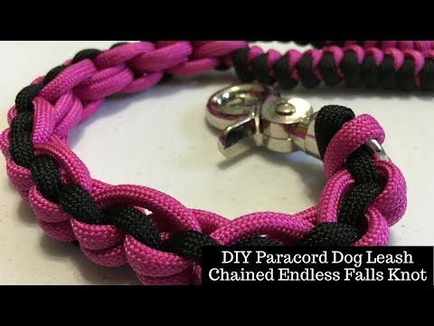 DIY Dog Leash - Chained Endless Falls