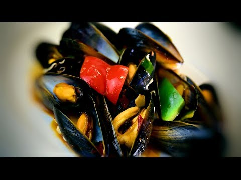 Spicy Mussels With Ginger (Chinese Style Cooking Recipe)