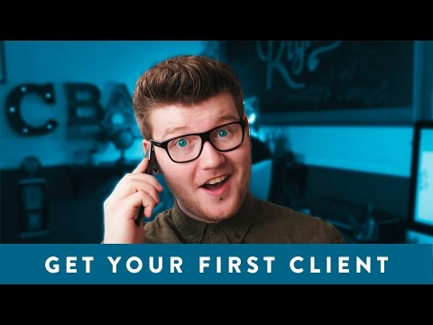 How To Get Your FIRST Logo Design Client 2016