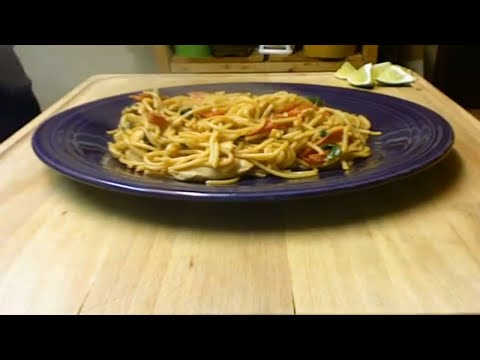 Thai Pasta Noodles with Michael's Home Cooking