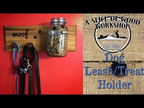 Easy Made Dog Leash and Treat Holder