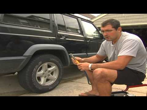 Car Maintenance : How to Inflate Car Tires
