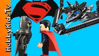 BATMAN vs SUPERMAN Sky High Lego Build