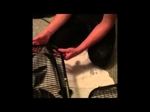 Homemade spray tanning extraction fan! Part 1