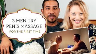 3 Men Try Penis Massage – For The First Time
