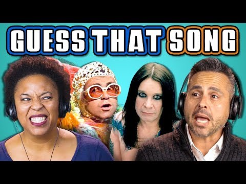 ADULTS GUESS THAT SONG CHALLENGE: 70s Songs (REACT)