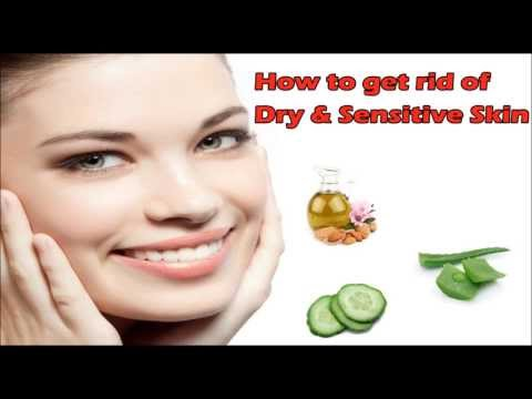 How to get rid of dry skin of face | Home remedy for dry skin