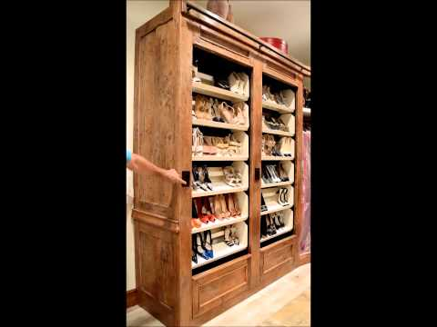 Maurice's Furnishings Closet Rotating Shoe Rack