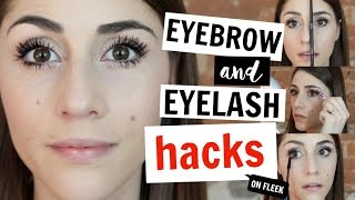The Best Hacks for Eyebrows and Eyelashes