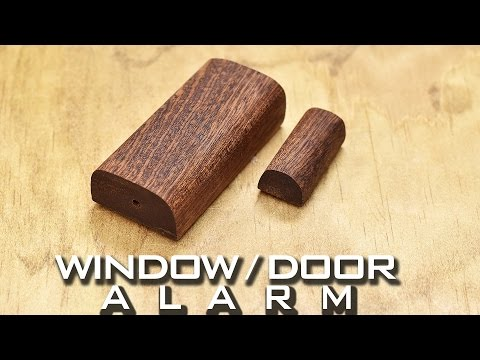 Easy DIY Window and Door Alarm