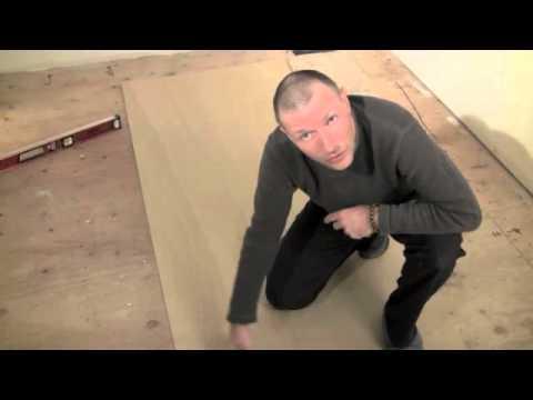 How To Level and Flatten Floors with Door Skins