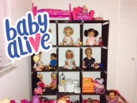Baby Alive Nursery Tour 2018!