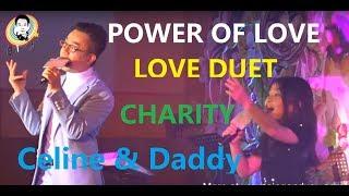 The Power Of Love - Celine Tam and Dr. Steve at Po Leung Kuk Charity Dinner