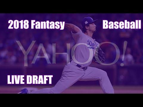 2018 Fantasy Baseball 12 Team Yahoo Weekly H2H Points Draft