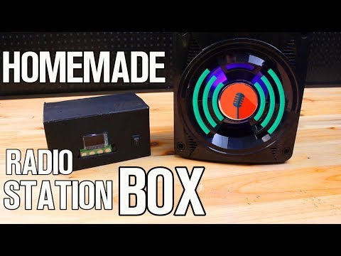 Homemade Portable Radio Station with MP3 - DIY Project