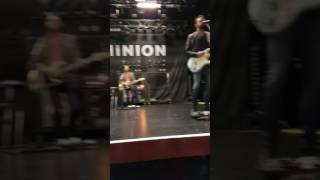 Old Dominion Hotel Key sound check NYC 2016