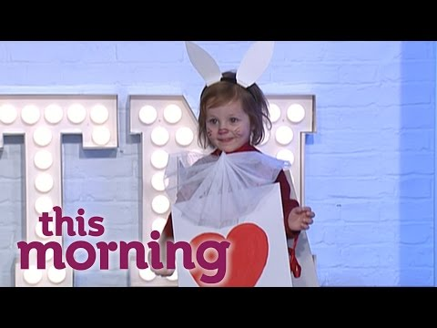 How To Make An Alice In Wonderland Costume | This Morning