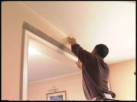 How to Paint a Straight Line against a Ceiling