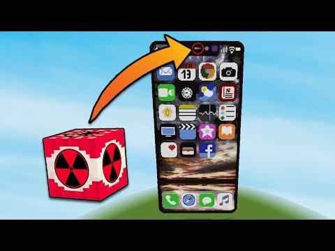 iPHONE X vs NUKE | Minecraft